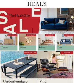 Home & Furniture offers in the Heal's catalogue ( Published today)