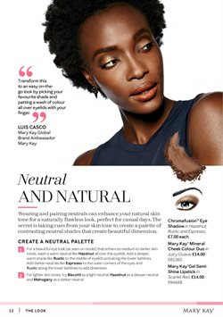 Gel offers in the Mary Kay catalogue in London