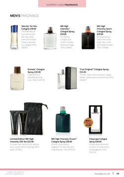 Perfumery offers in the Mary Kay catalogue in London