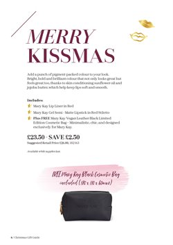 Offers of Bold in Mary Kay