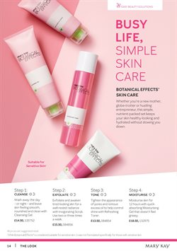 Offers of Skin care in Mary Kay