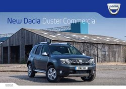 Dacia offers in the Aldershot catalogue