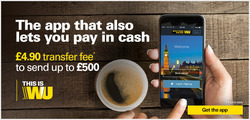 Western Union offers in the London catalogue