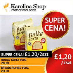 Karolina Shop offers in the Belfast catalogue