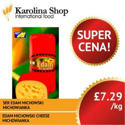 Supermarkets offers in the Karolina Shop catalogue ( Published today)