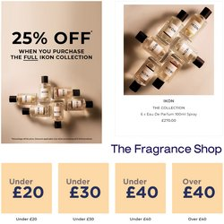 Pharmacy, Perfume & Beauty offers in the The Fragrance Shop catalogue ( Expires tomorrow)