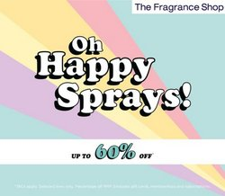 Pharmacy, Perfume & Beauty offers in the The Fragrance Shop catalogue ( Expires today)