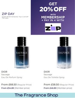 Pharmacy, Perfume & Beauty offers in the The Fragrance Shop catalogue ( 1 day ago)