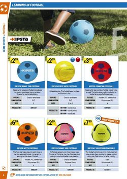 Football offers in the Decathlon catalogue in London