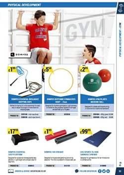 Pilates offers in the Decathlon catalogue in London