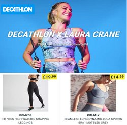 Decathlon offers in the Decathlon catalogue ( 14 days left)