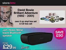 Electronics offers in the hmv catalogue ( 3 days left)