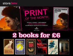 Electronics offers in the hmv catalogue ( 7 days left)