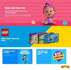 Toys & Babies offers in the Smyths Toys catalogue in Blackburn ( 5 days left )