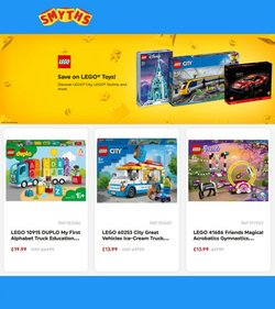 Toys & Babies offers in the Smyths Toys catalogue ( 11 days left)