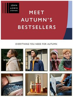 John Lewis offers in the John Lewis catalogue ( 8 days left)