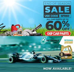 Cars, Motorcycles & Spares offers in the GSF Car Parts catalogue ( 10 days left)