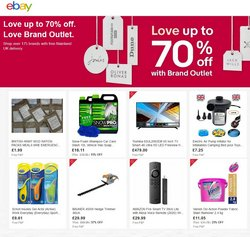 Department Stores offers in the eBay catalogue ( 12 days left)