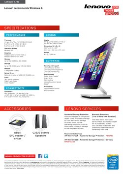 Computing accessories offers in the Lenovo catalogue in London