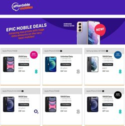 Electronics offers in the Affordable Mobiles catalogue in Swansea ( 3 days left )