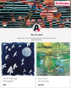 Art Finder catalogue ( Published today  )