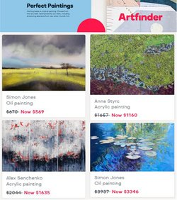 Art Finder offers in the Art Finder catalogue ( 13 days left)