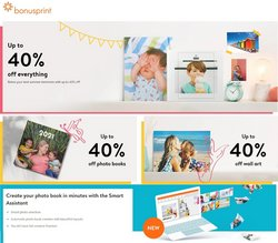 Books & Stationery offers in the Bonusprint catalogue ( More than a month)