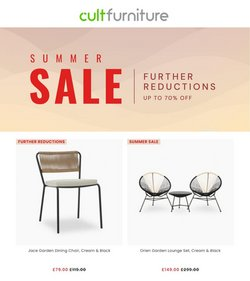 Cult Furniture offers in the Cult Furniture catalogue ( 8 days left)