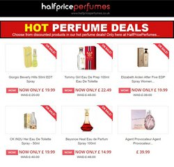 Offers of Eau de parfum in Half Price Perfumes