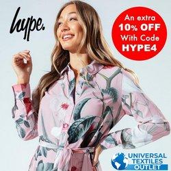Universal Textiles offers in the Universal Textiles catalogue ( 4 days left)