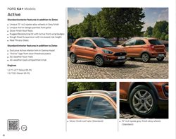Suspension offers in the Ford catalogue in London