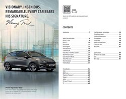Car offers in the Ford catalogue in London