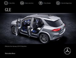 Mercedes-Benz offers in the Aldershot catalogue