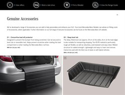 Roof box offers in the Mercedes-Benz catalogue in Royal Leamington Spa