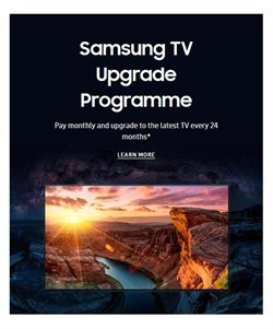 TV offers in the Samsung catalogue in London