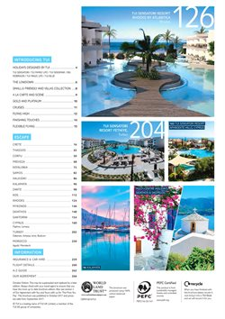 Morocco offers in the Thomson catalogue in London