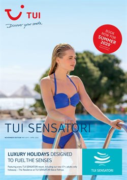Travel offers in the Tui catalogue in Enfield