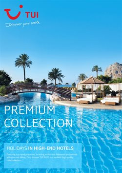 Travel offers in the Tui catalogue in Blackburn ( More than a month )