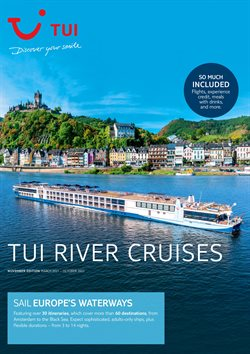 Travel offers in the Tui catalogue ( More than a month )