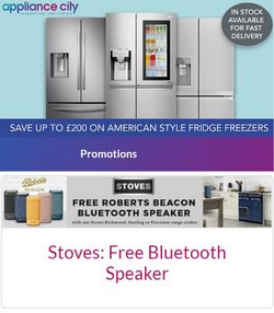 Appliance City offers in the Appliance City catalogue ( Expires today)