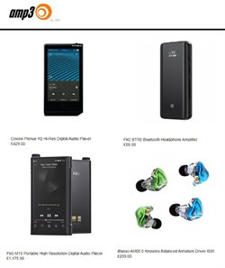 Electronics offers in the Advance MP3 Players catalogue in Liverpool ( More than a month )