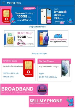 Electronics offers in the Mobiles catalogue ( 27 days left)