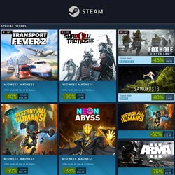 Electronics offers in the Steam catalogue in Swansea ( Expires tomorrow )