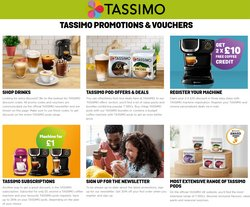 Electronics offers in the Tassimo catalogue ( 4 days left)