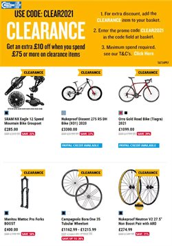 Sport offers in the Chain Reaction Cycles catalogue in Cannock ( 5 days left )