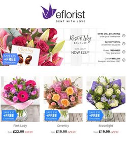 Home & Furniture offers in the Eflorist catalogue ( Published today  )