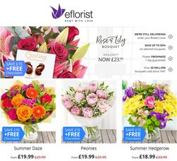 Eflorist offers in the Eflorist catalogue ( 8 days left)