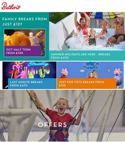 Butlins offers in the Butlins catalogue ( 9 days left)