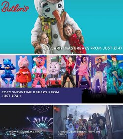 Butlins offers in the Butlins catalogue ( 4 days left)