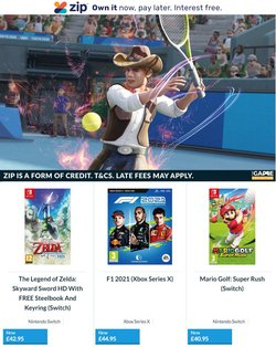 The Game Collection offers in the The Game Collection catalogue ( 12 days left)